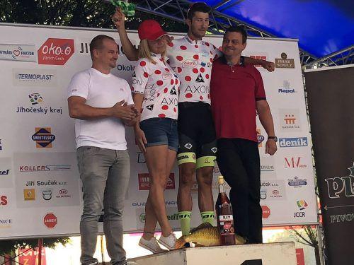 Jannik Steimle gewinnt bei der Tour of South Bohemia die Bergwertung.team