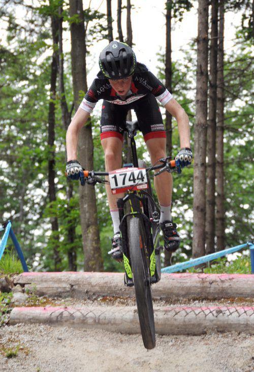 Kilian Feurstein holte vier der insgesamt sieben ersten Plätze von Vorarlberger Mountainbikern in der Austria-Youngsters-Cupserie in dieser Saison. Verein