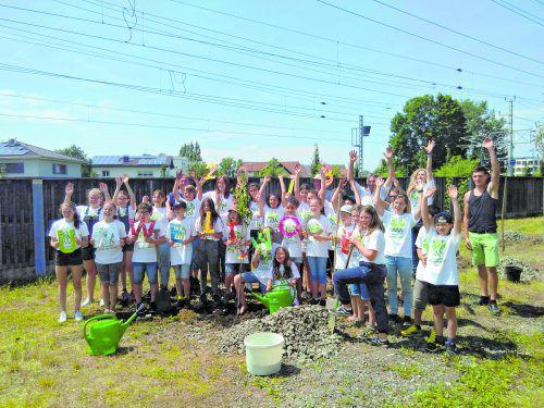 Kinder und Jugendliche engagieren sich in der Umweltwoche und in der Klimaakademie für Natur-, Umwelt- und Klimaschutz.