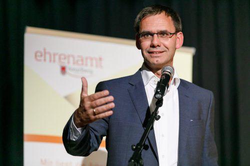 Landeshauptmann Markus Wallner betonte den Wert des Ehrenamts.