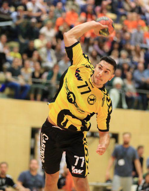 Luka Kikanovic will gegen seinen Ex-Klub mit Toren aufzeigen.GEPA