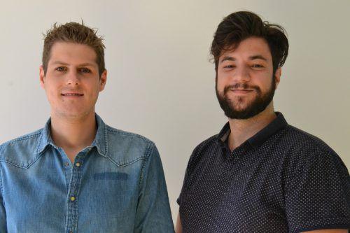 Lukas Morre und Cenk Dogan sehen dem bevorstehenden Jubiläum der Bludenz Big Band Union mit großer Vorfreude entgegen. BI