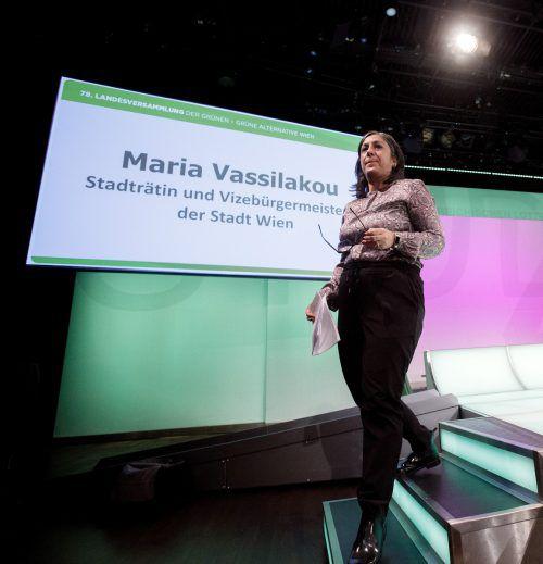 Maria Vassilakou gibt ihre Ämter als Wiens Vizebürgermeisterin und Stadträtin ab und tritt nicht mehr zur Wahl an. apa