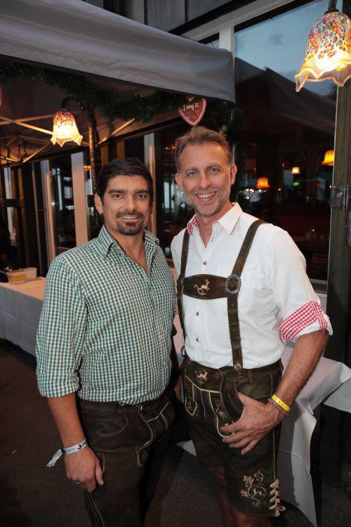 Marketingleiter Patrick Fleisch und GF Mario Wilfinger.