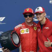 Für Mick Schumacher ist Ferraris Tür offen