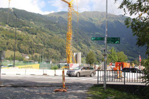 Noch bis Oktober muss der Baustellenbereich an der L 188 umfahren werden. Str