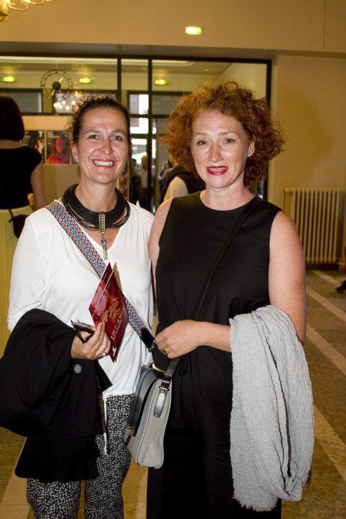 Petra Baur (l.) und Nicole Fischer-Oberrauner.