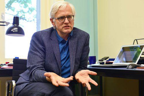 Prof. Dr. Michael Hampe, Professor für Philosophie, ETH Zürich. ETH