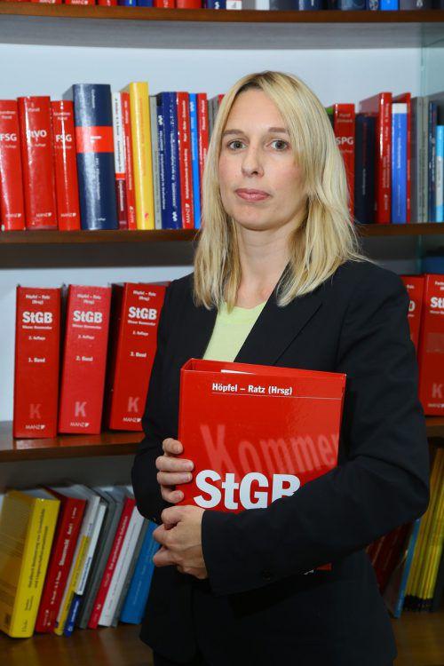 Rechtsanwältin Astrid Nagel wird den Jugendlichen verteidigen. hofmeister