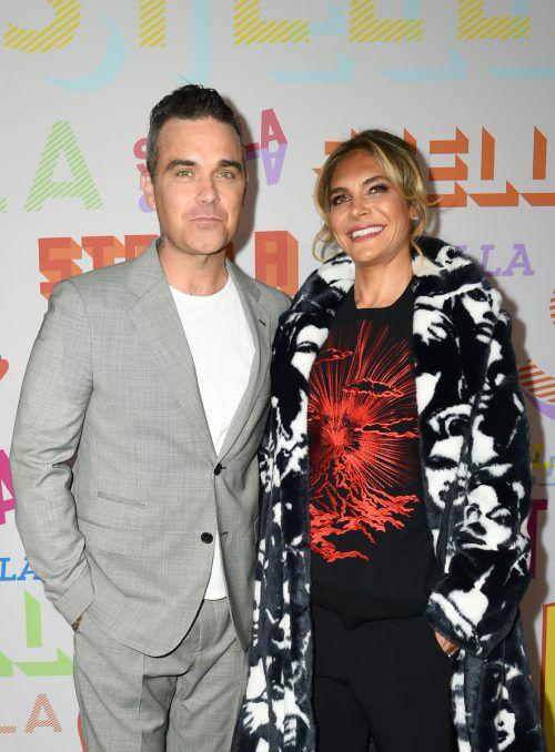 Robbie Williams und Ayda Field sind seit 2010 verheiratet. AFP