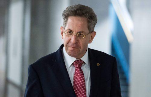 Scharfe Kritik für Verfassungsschutz-Präsident Hans-Georg Maaßen. afp