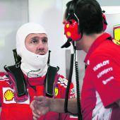 Vettel mit zu viel Schwung