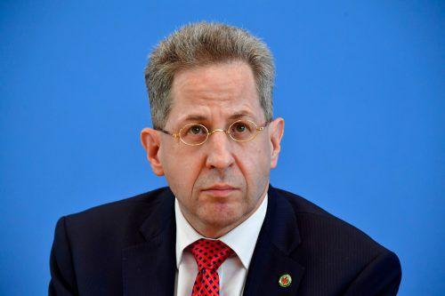 Seinen Job als Verfassungsschutzpräsident ist Hans-Georg Maaßen jetzt los. afp