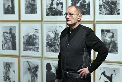 Seit 2011 mit eigenem Museum, dem Bruseum: Künstler Günter Brus. APA