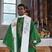Pfarrer nimmt Abschied von seinen Gemeinden