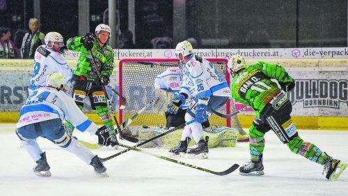 Simeon Schwinger erzielte gegen Cortina seinen vierten Saisontreffer. VN-lerch