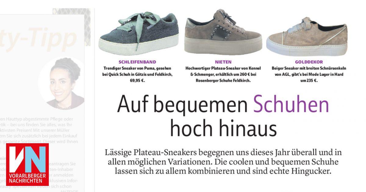 Auf bequemen Schuhen hoch hinaus Vorarlberger Nachrichten
