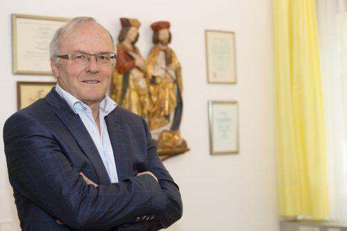 Spricht in Götzis zum Thema Barmherzigkeit: Reinhard Haller. VN