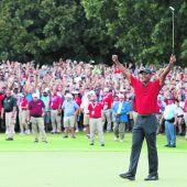 Tiger Woods wartete fünf Jahreauf den 80. Turniersieg