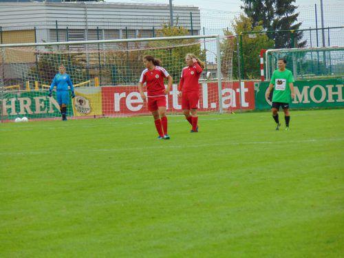 Torfestival der Dornbirner Fußball Damen: In Sonntag gab es ein 39:0. mima