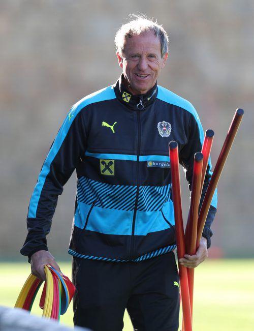 Tormanntrainer Klaus Lindenberger verließ wegen Israel den ÖFB.gepa