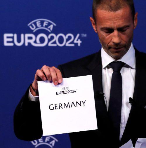 UEFA-Präsident Aleksander Ceferin soll Mitglieder umgestimmt haben.Reuters