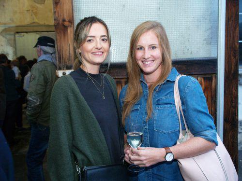 Unter den Gästen waren auch Karin Madlener (Monatti Bags) und Sandra Amor.