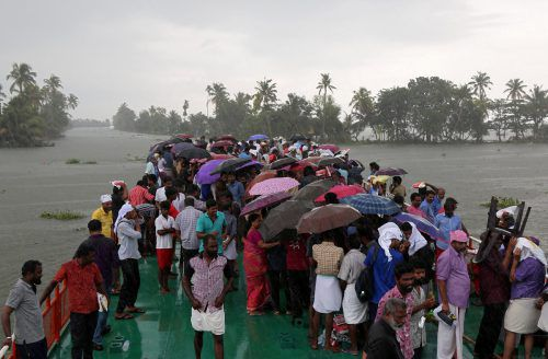 Viele Menschen haben durch die Flutkatastrophe praktisch alles verloren. AP