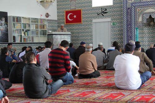 Die Studie befasste sich mit den 37 Moscheen und Gebetsräumen in Vorarlberg.Vol.at/Rauch