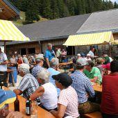 Alpwandertag führte zu Lustenauer Alpe
