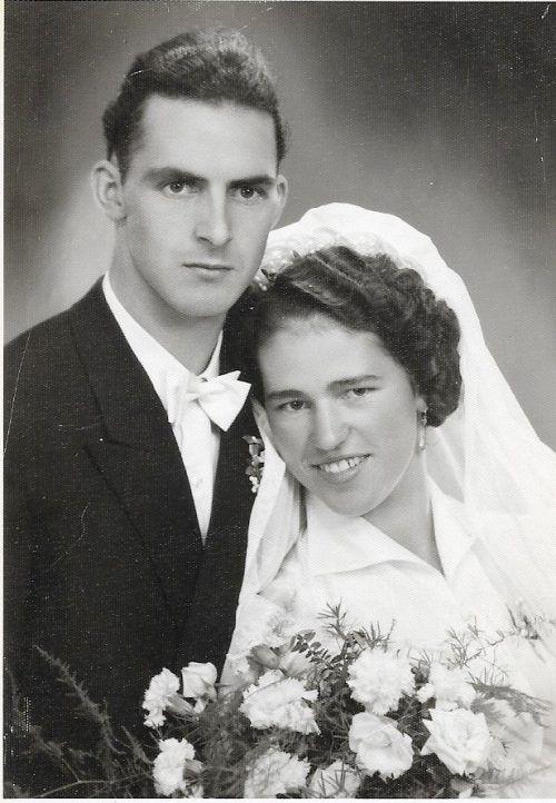 Vor 65 Jahren gaben sich Paula und Hermann Mathies das Jawort.
