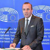 CSU-Politiker Weber will Juncker nachfolgen