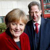Merkel entschuldigt sich in der Causa Maaßen