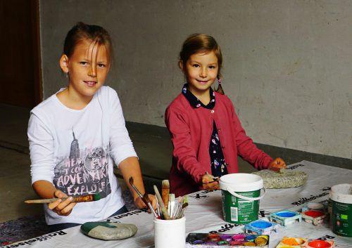 Zum Jubiläumsfest in Bezau wurde rund um das alte Feuerwehrgarage ein abwechslungsreiches Kinderprogramm angeboten.