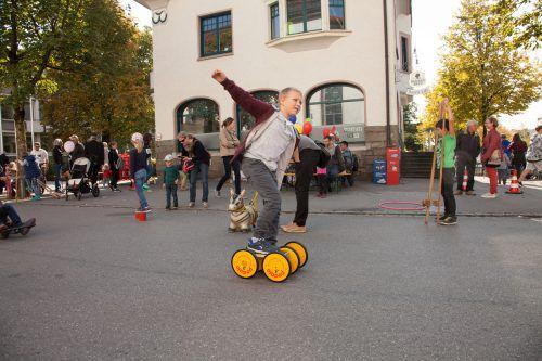Zum zehnten Mal haben in Lustenau die Kinder beim Spielefest das Sagen. lukas hämmerle