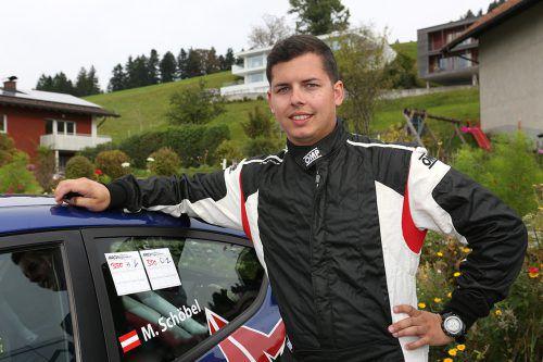 2015 Ford-Racing-Rookie, heuer Automobil-Cup-Gewinner: Der Fußacher Marco Schöbel kanns.manfred Noger
