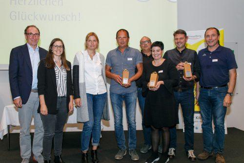 Abschluss des Fahrradwettbewerbs im Wifi Dornbirn.