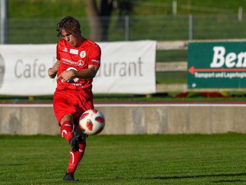 Alexander Huber hat sich mit seinen erst 18 Jahren schnell einen Stammplatz in der Erfolgself des FC Dornbirn erkämpft.vn