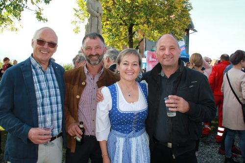 Alois Thür, Christoph Böhler, Birgit Giselbrecht-Plankel und Peter Gunz. wam