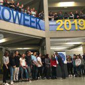 Rankweiler HTL-Schüler auf europäischem Austausch