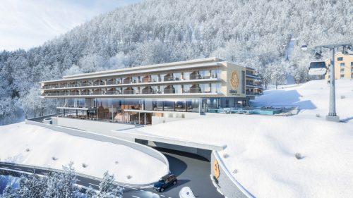 Am Eingang von St. Gallenkirch wird im Frühjahr mit der Realisierung der Luxusanlage begonnen.arborea