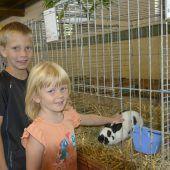 Große Ausstellung für kleine Tiere