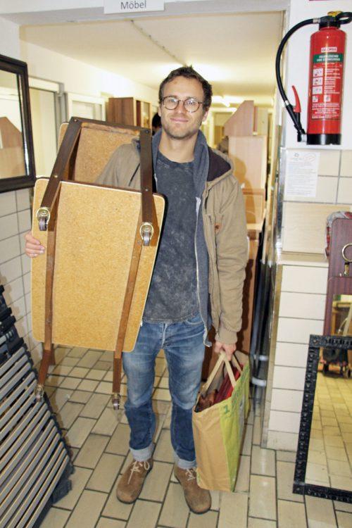 Am Samstag findet in der Alma in Hard wieder der Möbelflohmarkt statt.ajk