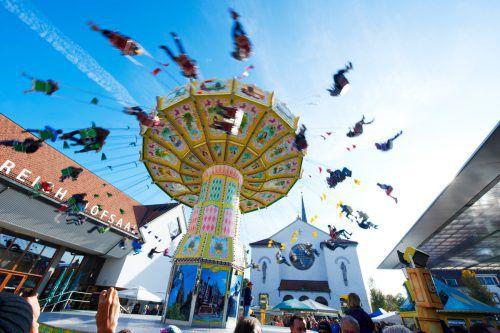 Am Sonntag, 14. Oktober, trifft sich das ganze Land auf der Kilbi in Lustenau. Marcel hagen