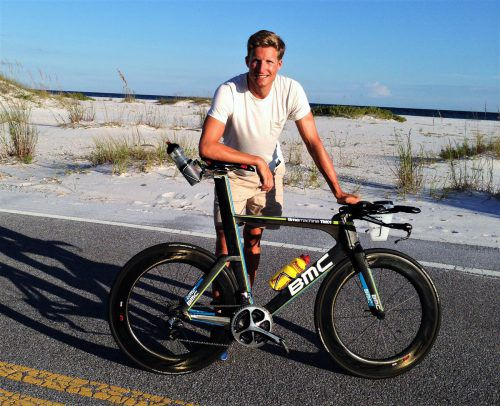 Andreas Jung war zum zweiten Mal beim Hawaii-Triathlon am Start.triathlon