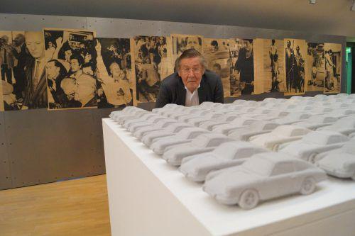 Anlässlich der Preisverleihung wurde in Hall eine Ausstellung mit Arbeiten von Bechtold eröffnet. Miriam Sorko