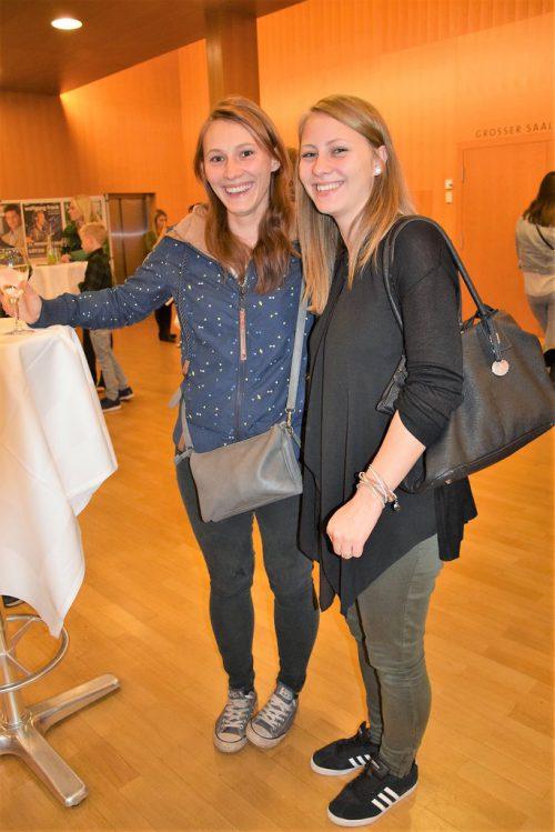 Anna Tiefenthaler und Sandra Huber.Ver