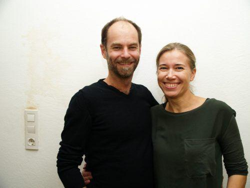Architekt Benjamin Miatto und Fotografin Karin Nussbaumer.