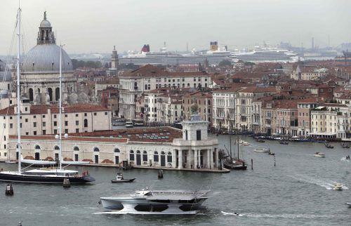 Auch die Lagune von Venedig ist durch den Klimawandel gefährdet.Reuters
