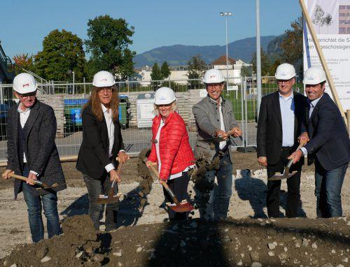 Auch die Vertreter von Stadt- und Landespolitik freuen sich über das Projekt. the